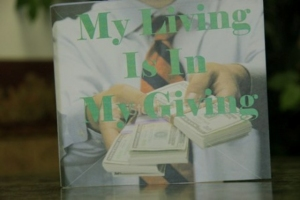 My Living is in My Giving